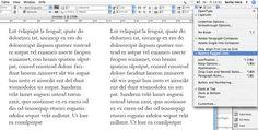 Text Anpassungen   Flattersatzausgleich  Initialien-Ausgleich  Optischer Randausgleich