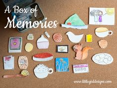 Know someone who's moving? Don't know what to give that person on your list who has everything? Make them a box of memories! They will LOVE it! {littlegirldesigns.com}