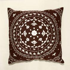C.C.F.C. Cotton Throw Pillow