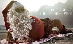 Merry Xmas and Happy New Year from Gardalake #Gardasee #Italy #SantaClaus