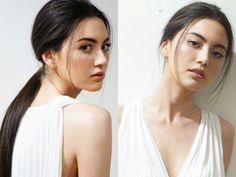"""Mai Davika Hoorne 5월16/Half Belgium """"Whether who you are, Only you I will love. Although haven't met you yet."""" Both are herself. (I'm not think about twins, don't take her represent anyone like she did)."""