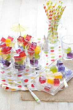 Rainbow Jelly Candy ~ No Artificial Colouring 彩虹啫喱糖 ~ 無人造色素