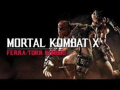 Mortal Kombat X: Ferra/Torr Kombos with Button Inputs Mortal Kombat X, Buttons, Organization, Movie Posters, Getting Organized, Organisation, Film Poster, Popcorn Posters, Tejidos