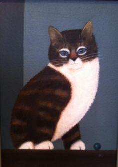 Cat by Martin Leman (b.1934)