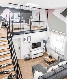 Love the loft bedroom!