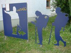 Oberreißen Hinweisskulptur Jakobsweg