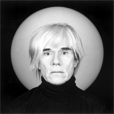 Andy Warhol 1986    Photo by Robert Mapplethorpe  Milano, 2011  Courtesy Press Office