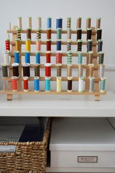 thread spools #colors #stuff #collections