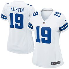 NFL Womens Elite Nike Dallas Cowboys  19 Miles Austin White Color  Jersey 109.99 Dallas Cowboys a34a4a26c