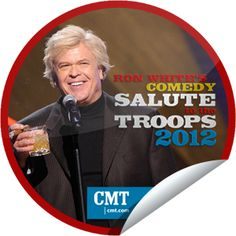Ron White's Comedy Salute to the Troops 2012. Thanks Ron for your support of the USA Troops. America Thanks You!