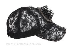 Go Glam! For more on these lace hats with crystals and beads, please contact us at info@stephaniejaye.com