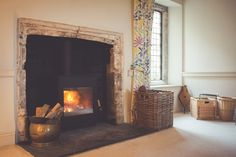 The Burley Bosworth in a listed manor house in Oxfordshire. Wood, Buckinghamshire, House, Contemporary Wood Burning Stoves, Manor House, Contemporary, Home Decor, Stove, Eco Design