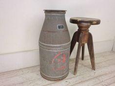 Milk Tank 古いミルク缶L15アンティーク牛乳缶ガーデニング傘立 インテリア 雑貨 家具 Antique ¥5800yen 〆05月15日