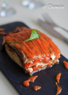 THERMOFAN: Terrina de verduras asadas con salsa agridulce de tomate ( T )