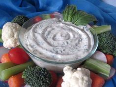 Vegan ranch—Another pinner said:   I added some nutritional yeast and really liked the difference it made