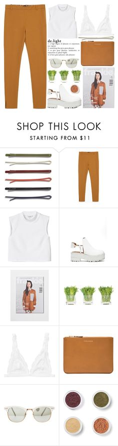 """delight - Thank You! :)"" by evangeline-lily ❤ liked on Polyvore featuring Madewell, Zara, Monki, Jeffrey Campbell, NDI, Comme des Garçons, Bare Escentuals, women's clothing, women and female"