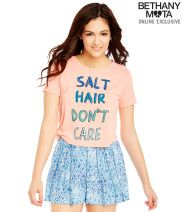 Salt Hair Cropped Graphic T from Aéropostale