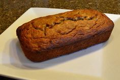 OMG!!! This seriously is the Best EVER {Gluten Free} Banana Bread!!! Made it tonight with fresh ground brown rice flour and coconut flour...AMAZING!! Better than any banana bread I've ever had!