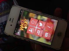 Application du Who's Next 2013 ! Excellente idee pour se reperer les exposants, ne pas se paumer et suivre l'actu du salon !