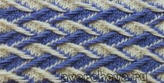 """Knitting pattern: """"weaving color pattern"""" (Patterns 487) - maomao - I heart action"""