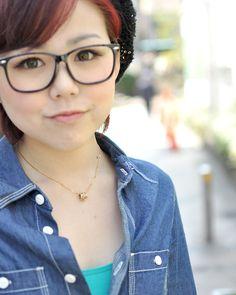 ◆美人スナップ|山口季菜さん http://www.bijin-snap.com/2012/04/17/no-682/page/6/ #山口季菜 #Kina_Yamaguchi #girl_with_glasses #glasses #woman_with_glasses