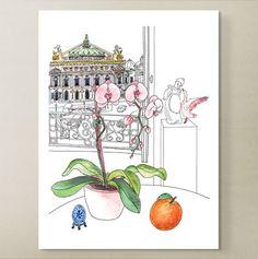 O L'Opéra Garnier by YukieMatsushita on Etsy, €85.00