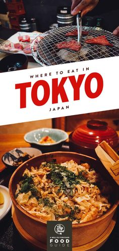 Planning a trip to Tokyo? This Japanese food guide will teach you what and where to eat in Tokyo without breaking the bank. Learn where to find great examples of dishes like sushi, ramen, monjayaki, fukagawa meshi, and even pizza in Tokyo. Japan Travel Guide, Tokyo Travel, Asia Travel, Tokyo Trip, Japan Trip, Japan Guide, Backpacking Europe, Bora Bora, Belfast