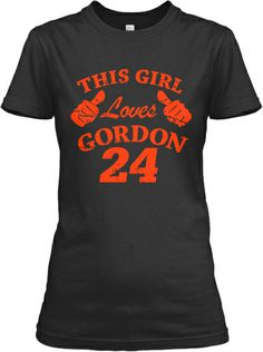 Limited - This Girl Loves Gordon   Teespring
