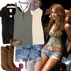 Ariel Moore from Footloose 2011 — inspired outfit Teen Fashion Blog, Girl Fashion, Country Music Outfits, Country Concert Outfit Summer, Summer Outfits, Cute Outfits, Movie Outfits, School Outfits, Stylish Outfits