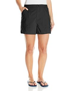 daae2376feb Maxine of Hollywood Women s Plus-Size Solid Woven Board Shorts  gt  gt  gt