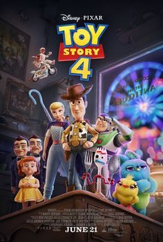 Toy Story 4 is an upcoming animated comedy movie produced by Pixar Animation Studios for Walt Disney Pictures. This is the fourth part of Pixar's Toy Story series. The story continues from Toy Story The production of the movie ended on January 2019 Disney Pixar, Walt Disney, Disney Cinema, Disney Movies, Pixar Movies, Disney Movie Posters, Disney Parks, Tom Hanks, Pokemon Go