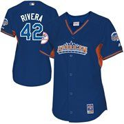 Majestic Mariano Rivera New York Yankees 2013 MLB All-Star Game Ladies Player Performance Jersey - Royal Blue