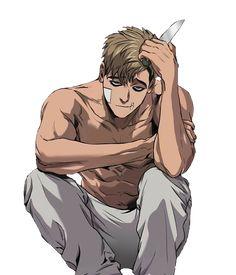 #manga #killingstalking #sangwoo #freetoedit #remixit Manhwa Manga, Manga Anime, Sangwoo Killing Stalking, Arte Emo, Killing Me Softly, Cute Anime Wallpaper, Animes Wallpapers, Hot Anime Guys, Fujoshi