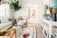 Wicker Redux | California Home + Design