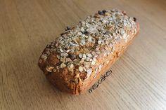 Pan de muesli // Vegan muesli bread recipe in spanish Vegan Bread, Vegan Cake, Muesli Bread, Bread Recipes, Vegan Recipes, Pan Rapido, Cooking Bread, Bread Rolls, Healthy Life