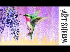 HI I'm the Art Sherpa, I Teach art in live streaming Easy acrylic step by step painting tutorials to beginning artists like you Starting an Art Adventure . Bird Painting Acrylic, Hummingbird Painting, Acrylic Painting For Beginners, Acrylic Art, Dream Painting, Beginner Painting, Rock Painting, Acrylic Painting Tutorials, Painting Videos