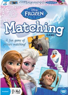 Disney Frozen Matching Game 500 points