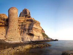Fort and Tower on the Island of Capraia Italy