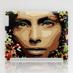Stoned Flower iPad Case by AsyaCreativeArt - $60.00