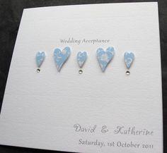 89 best wedding acceptance wedding card ideas images on pinterest