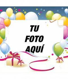 Fotomontaje para hacer una postal de felicitación gratuita - Fotoefectos Happy Birthday Pictures, Place Cards, Place Card Holders, Joseph, Happy Birthday Photos, Good Morning Photos, Colorful, Gifts, Party