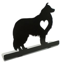 Vintage and Retro Tin Signs - JackandFriends.com - Collie Silhouette Dog Metal Table Topper 9 x 6 Inches, $14.98 (http://www.jackandfriends.com/collie-silhouette-dog-metal-table-topper-9-x-6-inches/)