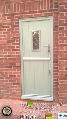 Every Solidor Timber Composite Door comes fitted as standard with Ultion 3 Star Diamond Sold Secure Locks, fully fitted with 12 months Credit Door Images, Composite Door, Free Credit, Back Doors, Stables, Home Remodeling, 12 Months, Locks, Entrance