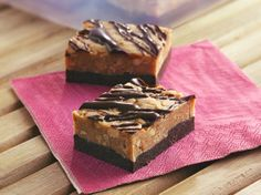 No Bake Chocolate-Peanut Butter Candy Bars