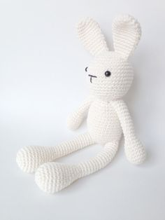 This listing is for a finished crochet stuffed toy (amigurumi) Default color will be off-white unless otherwise indicated. If you prefer another,