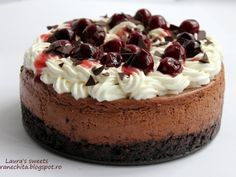 No Cook Desserts, Dessert Recipes, Cake Decorating For Beginners, Chocolate Cheesecake, Eat Dessert First, Sweet Cakes, Something Sweet, Yummy Cakes, Sweet Recipes