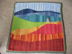 Amazing knitted blanket