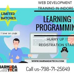 Hey! guys. Looking for some programming courses for your knowledge enhancement. Join NARMADATECH SOLUTIONS as soon as possible. Hurry up!! #Narmadatech #Programming #learning #Python #Artificial intelligence #Laravel #ReactJS #softwarecompany #Appdevelopment