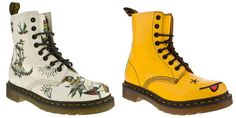 Dr Marten Applique Louie Tattoo and Hinky Acid House!