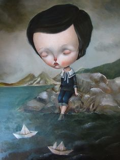 Dilka Bear (aka Dilkabear) was born in Alma-Ata, Kazakhstan (USSR) in 1977; lives and work in Triste, Italy